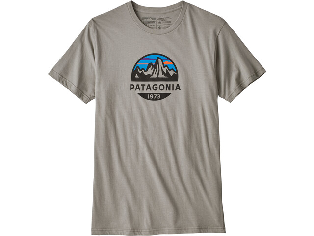 Patagonia Fitz Roy Scope Organic T-shirt Herr feather grey